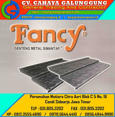 Genteng Metal Fancy