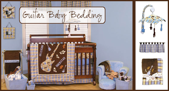 Guitar Baby Bedding