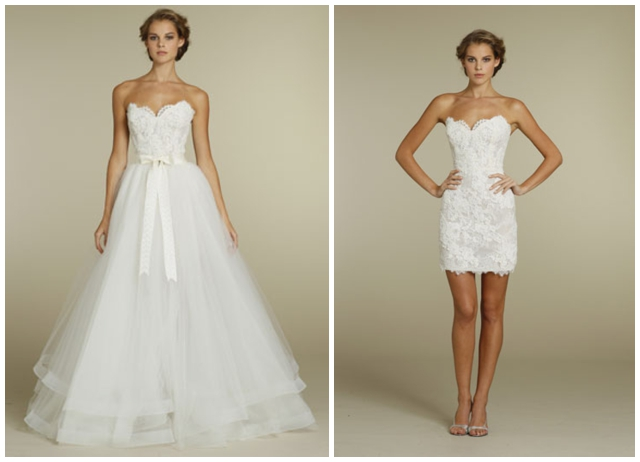 A Perfect Wedding You Need Two Bridal Gowns At Least Traditional Ball Gown For The Ceremony And Cute Little Dress To Dance Reception