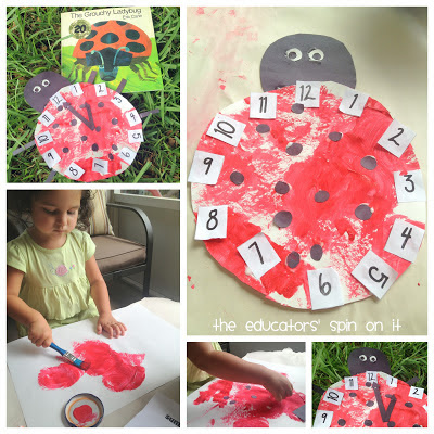Ladybug Themed Activities inspired by The Grouchy Ladybug by Eric Carle