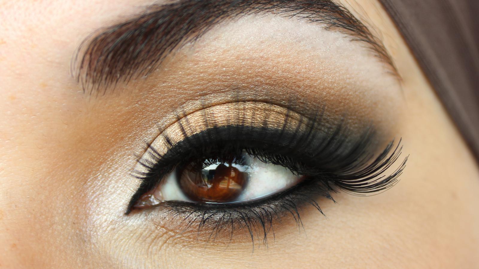 Makeup By Siham Bridal Look With Fun Big Lashes