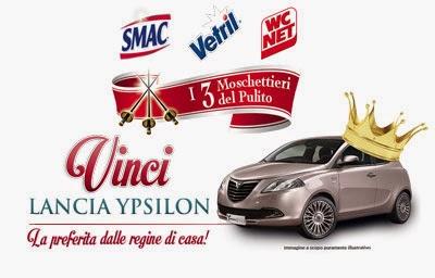 I Tre Moschettieri Del Pulito vinci Lancia Ypsilon