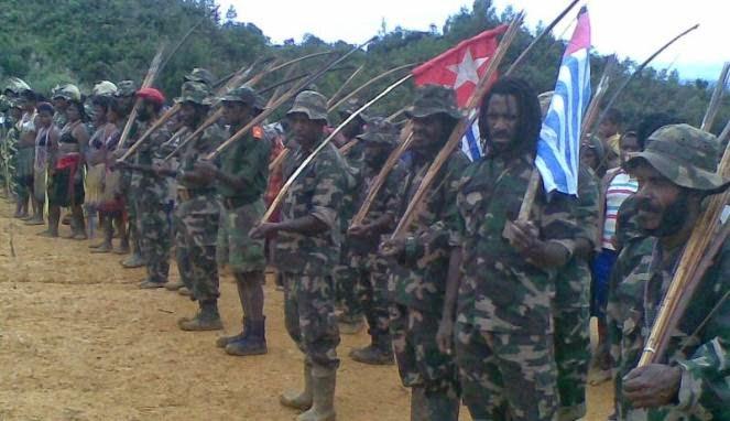 OPM Tembak Empat Polisi di Lany Jaya Papua, 2 Tewas