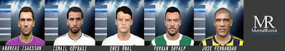 Pes 2016 New Year Facepack by Facemaker MortalResist
