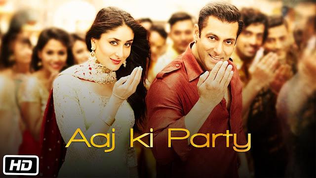 Bajrangi Bhaijaan Song Aaj ki Party