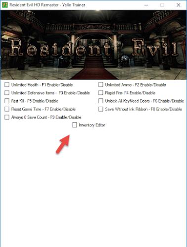 Resident Evil HD Remaster – Trainer +10 - Download