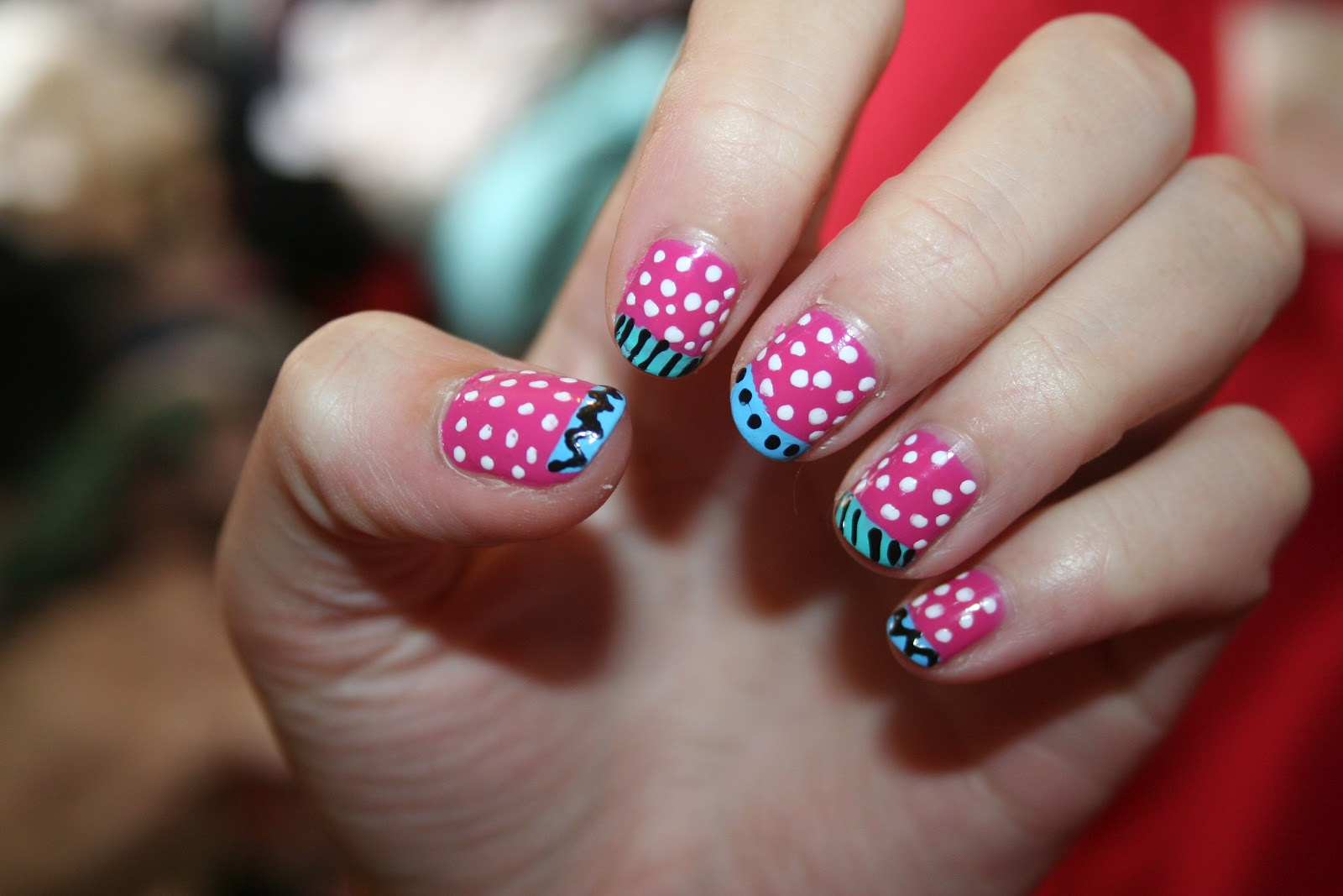 Handee Nail Tips Pop Art Nails