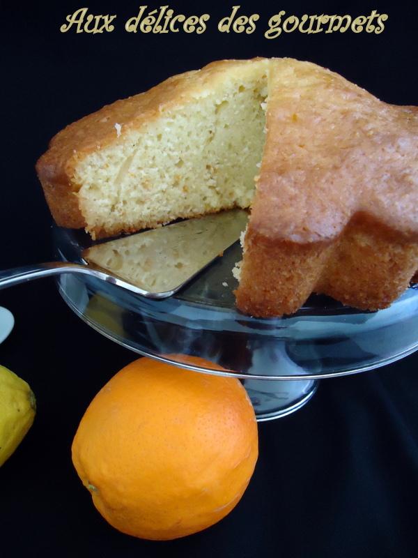 Aux d lices des gourmets g teau moelleux au yaourt - Gateau au yaourt hyper moelleux ...