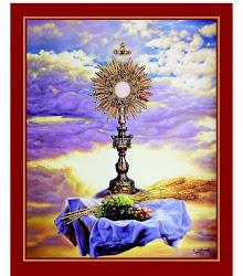 Alabado sea el Santísimo Sacramento del Altar.