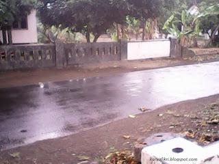 selepas rintik hujan