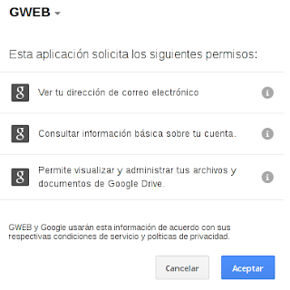 acceder a gweb.io