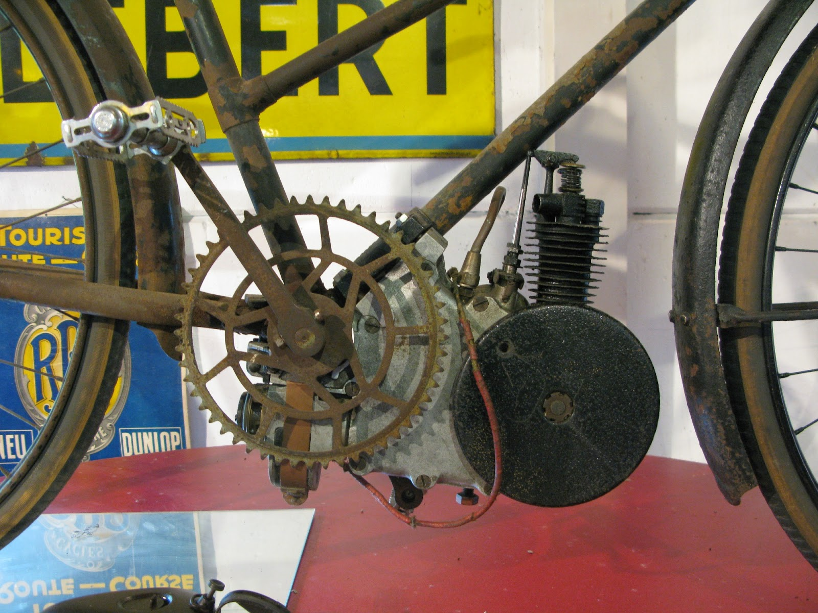 early cyclemotor