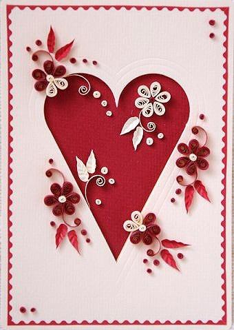 Открытки с сердечком i открытка с сердечком своими руками