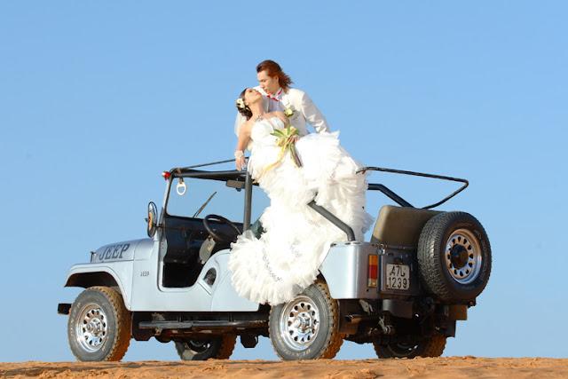 Cho thuê xe Jeep - Xe cưới Jeep