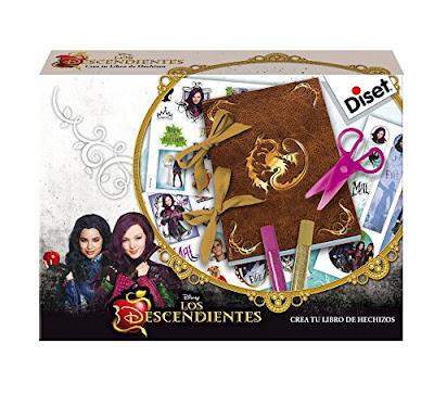 TOYS : JUGUETES - DISNEY Los Descendientes Crea tu libro de hechizos Producto Oficial Descendants 2015 | Diset 46586 | A partir de 6 años Comprar en Amazon España