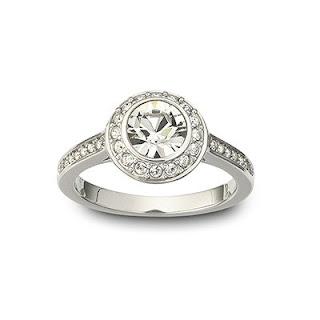 Originální šperky Swarovski: Swarovski prsten ANGELIC