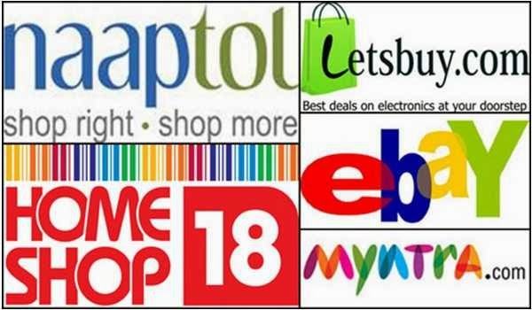 Top ranked Shopping sites for Indians to purchase online