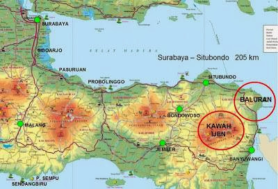 peta lokasi taman nasional baluran