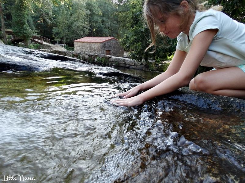 senderismo plan familia barro pontevedra parque natureza