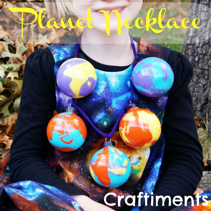 Craftiments.com | Planet Necklace