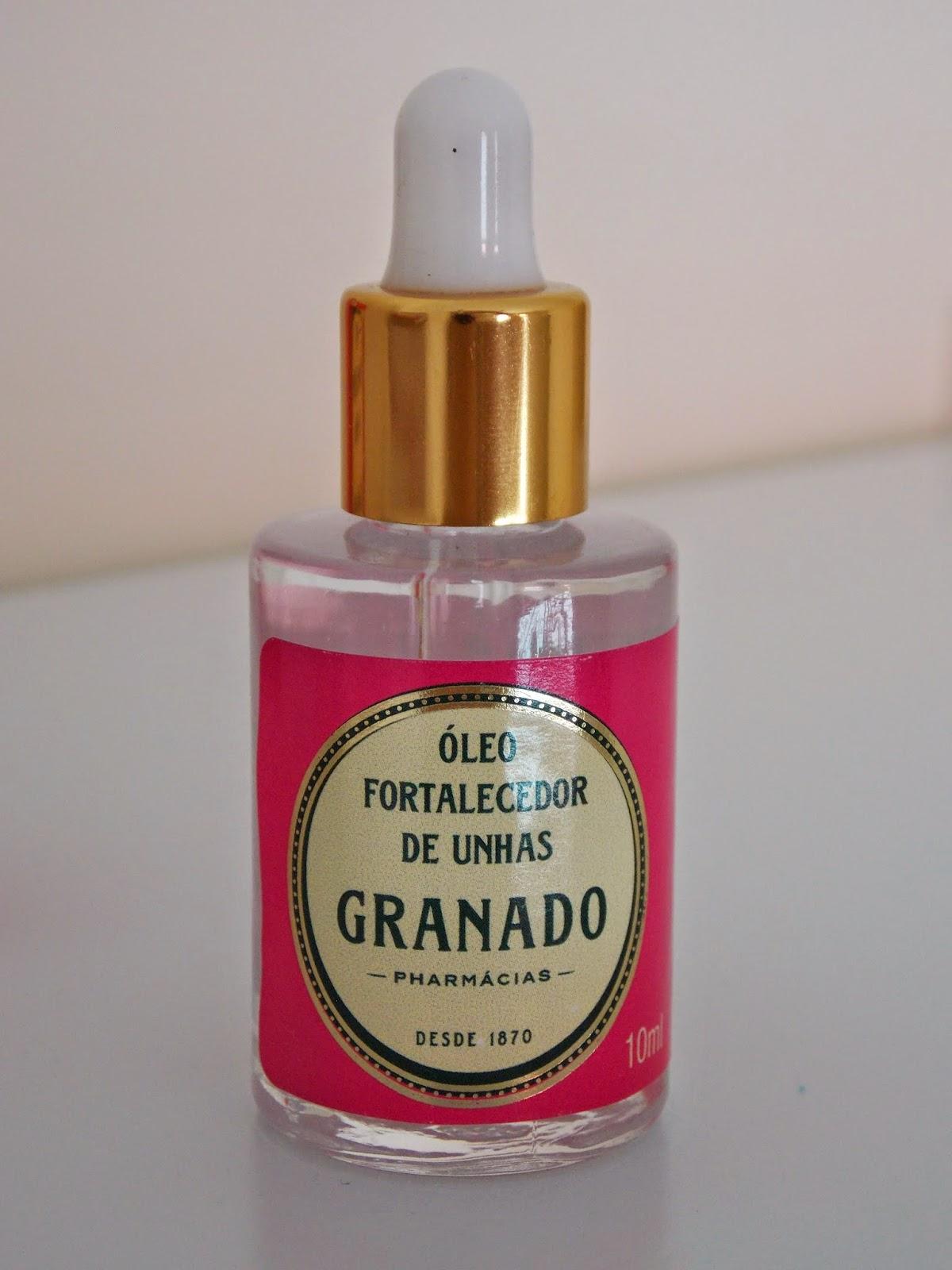 resenha unhas fortes esmalte Granado