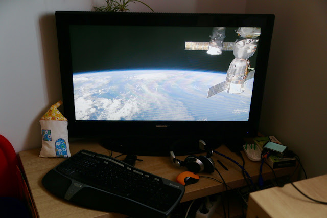 Live streaming of International Space Station video on Raspberry PI