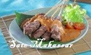 resep sate makassar, cara membuat sate makassar, cara memasak sate makassar, sate makassar