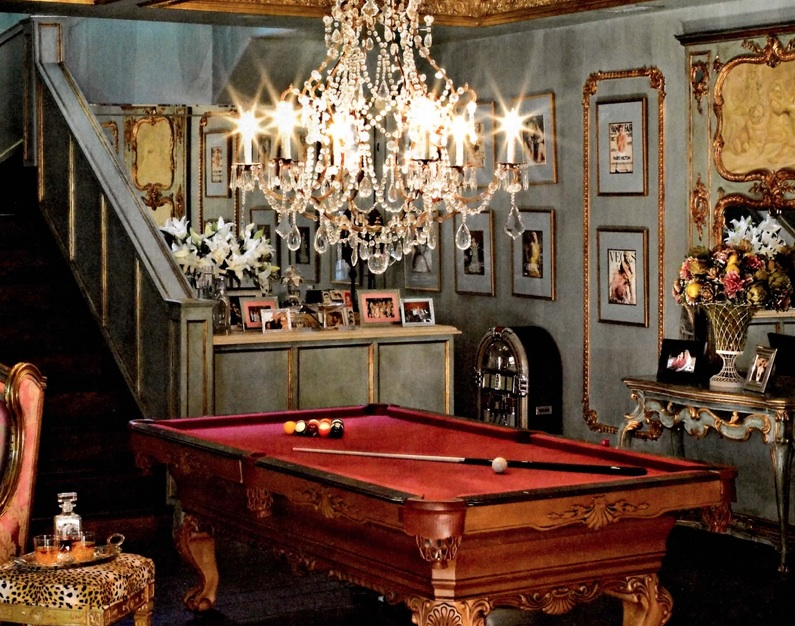 Amazing pool table chandeliers model fantastic diy chandelier chandelier above pool table by southwest french country style july 2012 aloadofball Choice Image