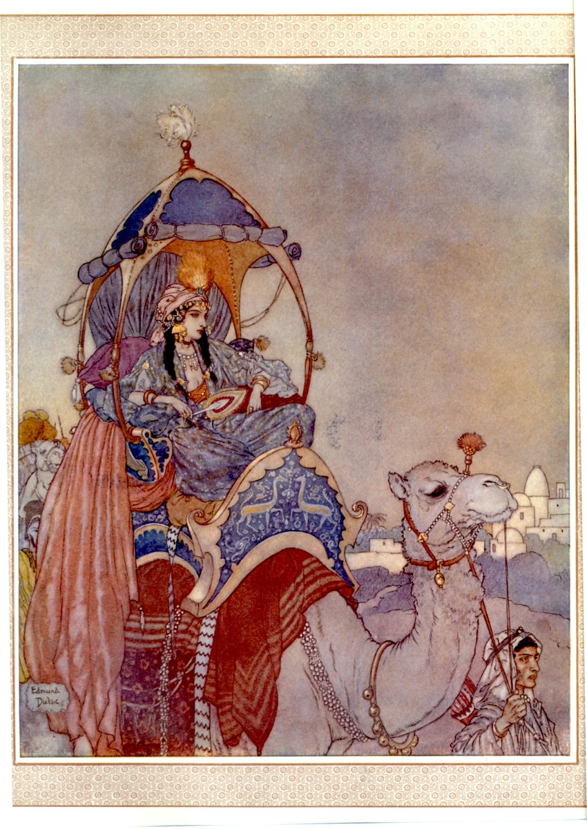 edmond dulac queen sheeba