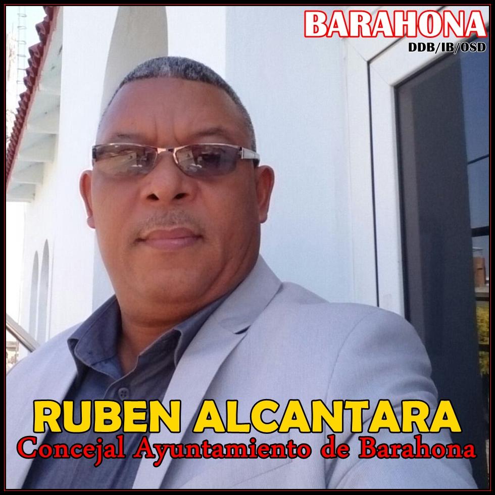 RUBEN ALCANTARA, CONCEJAL DEL AYUNTAMIENTO SANTA CRUZ DE BARAHONA