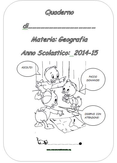 Eccezionale Le copertine utili per i quaderni della scuola Primaria UU38