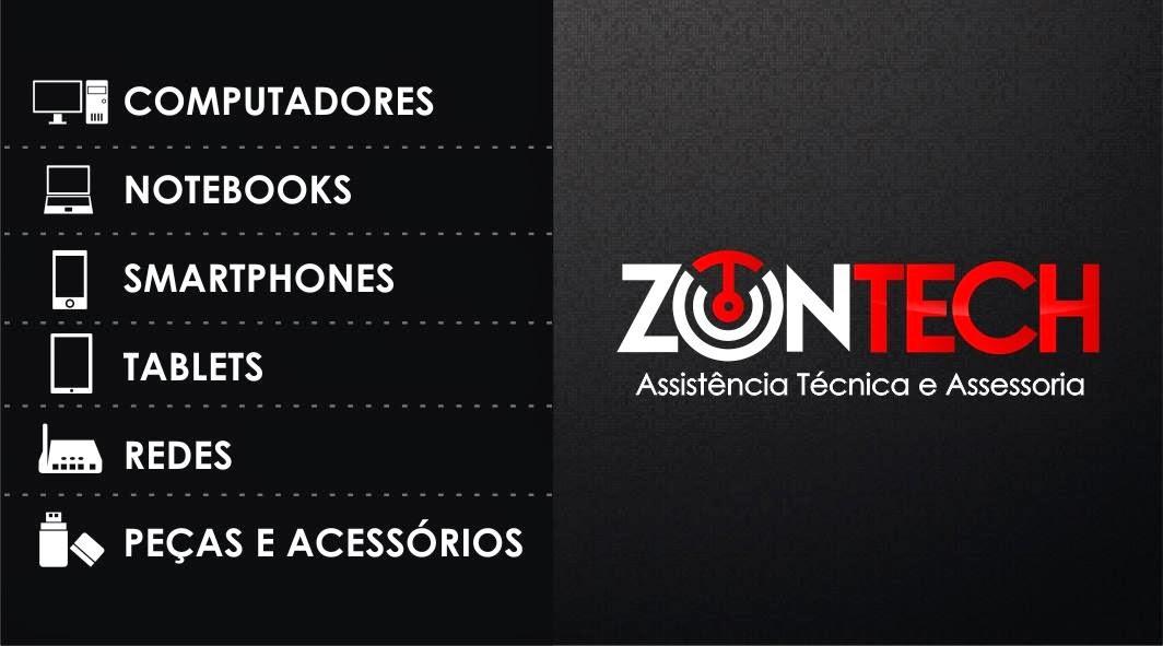 """ZON TECH """"Assistência Técnica e Assessoria""""."""