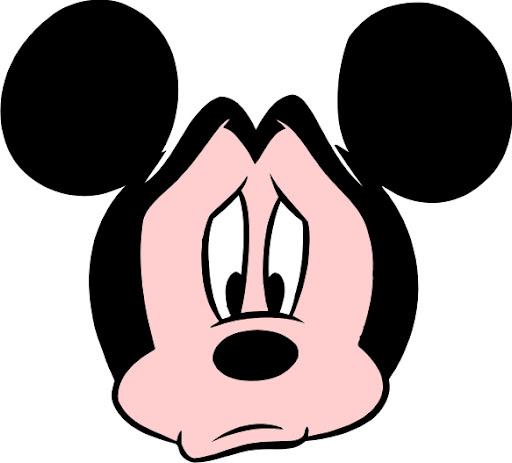 mickey mouse triste caras de mickey mouse para imprimir mickey