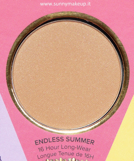 Too Faced - The Little Black Book di Bronzer.  Endless Summer.