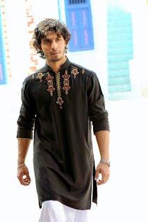Men S Kurta Style Latest Eid Mens Stylish Kurta Latest