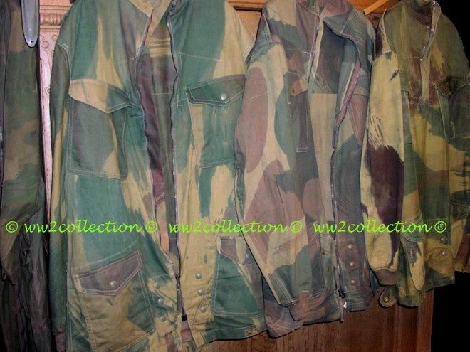 Camouflage uniform WW2