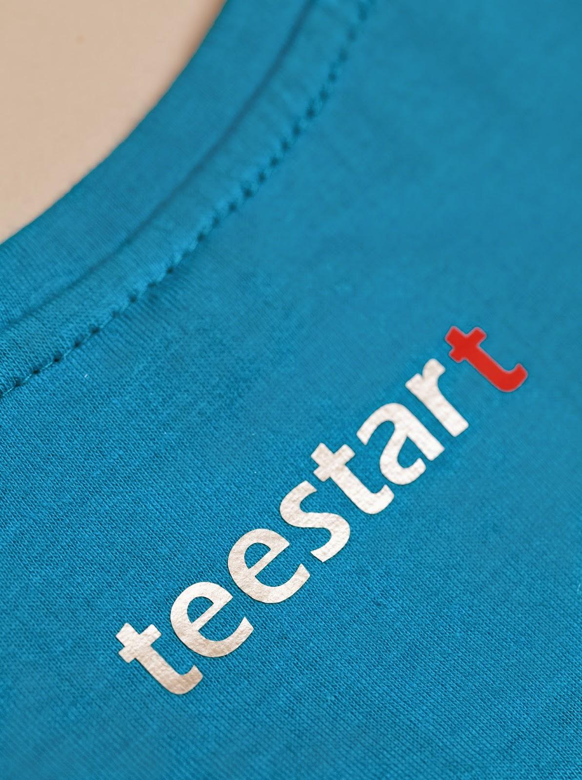 camiseta en edición limitada en azul B Blue Aqua