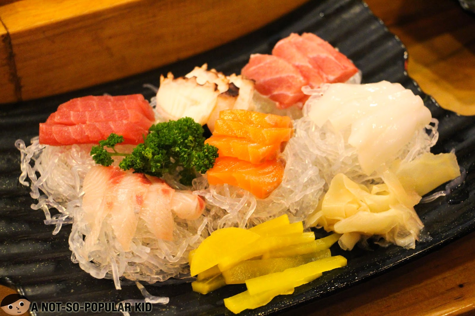 The Sashimi Platter of Genji-M Restaurant