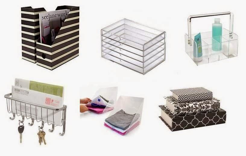Use produtos organizadores