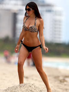 CLAUDIA ROMANI great Bikini body figure