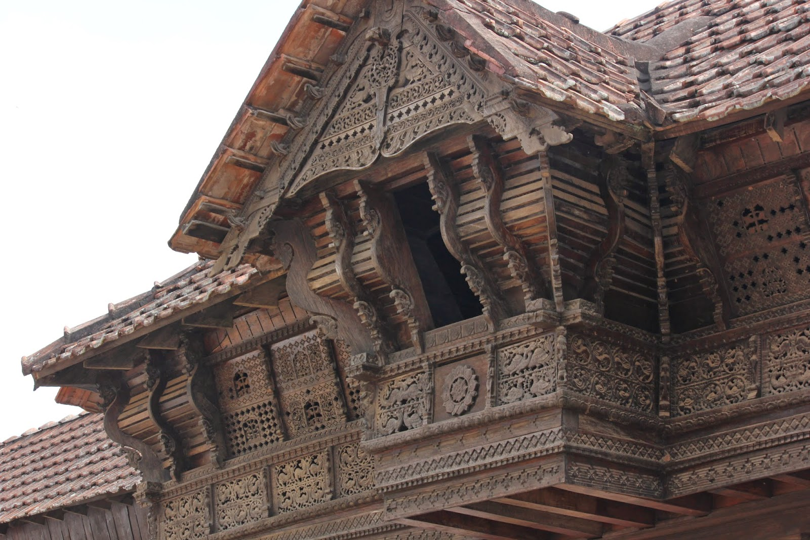The oldest largest wooden building in asia Indian building photos