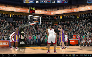 NBA 2k13 for Android devices