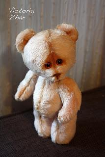 teddy мишка Виктория Жар Victoria Zhar