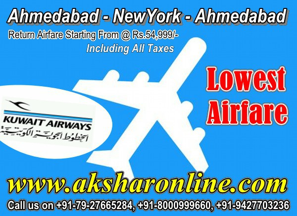 Kuwait Airways Return Airfare Starting From Rs.54999/- aksharonline.com www.aksharonline.com akshar tours ahmedabad travel agent ahmedabad travel agency ahmedabad hotels ahmedabad hotel booking ahmedabad cheap tickets india, hotels india