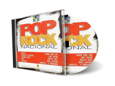 Cd Caras e MTV – Coletânea Pop Rock Nacional (10 Cds)