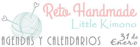 Reto handmade Little Kimono - agendas y calendarios