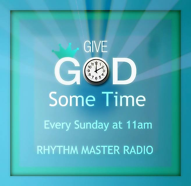 GIVE GOD SOME TIME