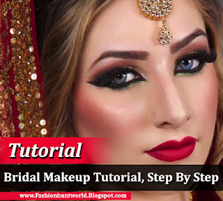 South Asian Bridal Makeup Tutorial, Step By Step