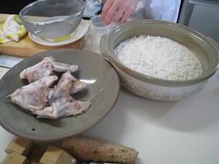 阿佐ヶ谷に出張料理:鯛飯