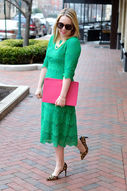 green-lace-dress-outfit